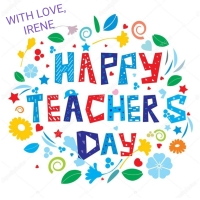 TO ALL TEACHERS: HAPPY TEACHERS' DAY @ 1.9.18