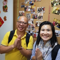 CONGRATS TO OUR INTERN MONITORS OF DHARMA @BWMONASTERY CHINATOWN 13.5.19