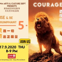 Rise & Be Triumphant 5: COURAGE 赞胜一切  颂出正能量 5: 勇悍行 @ BW MONASTERY 17.9.2020