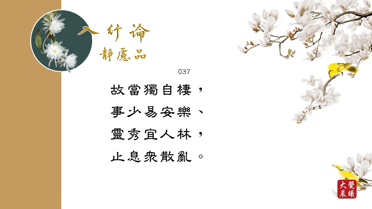 A Guide to the Bodhisattva's Way of Life: The Practice of Meditative Concentration Chapter《入菩萨行论》静虑品 #037 @BWMONASTERY 03.08.2021
